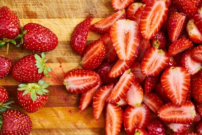 Foods to Combat Wrinkles - Strawberries
