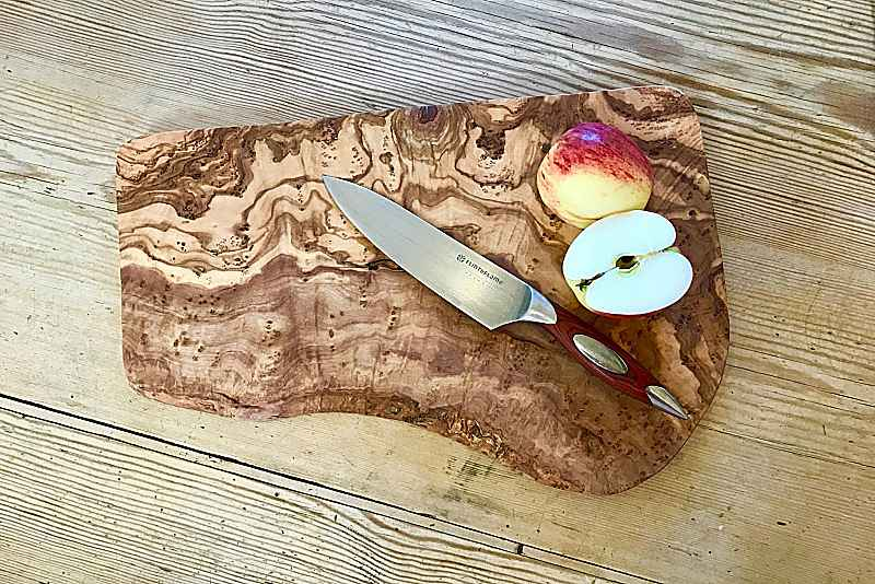 Apple on a Chopping Board