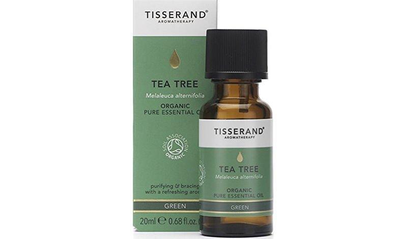 Tisserand Tea Tree Oil bottle and box