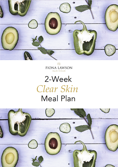 2-Week Clear Skin Meal Plan cover