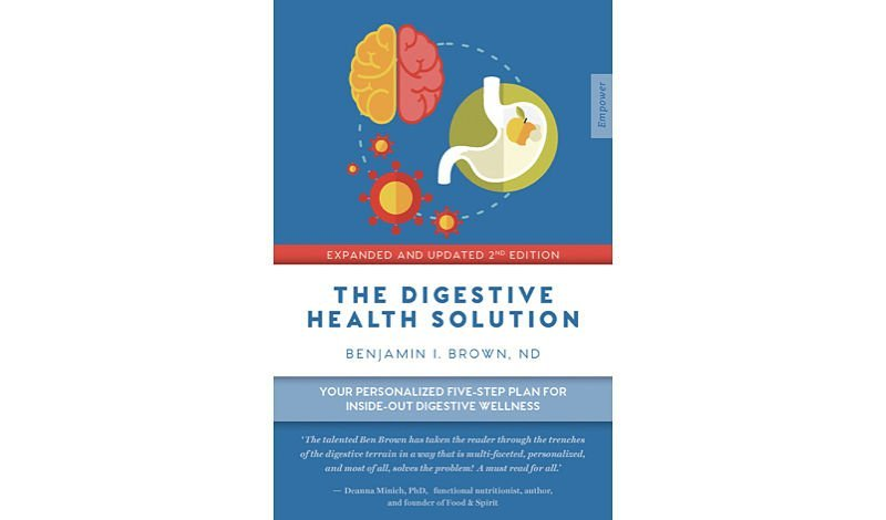 The Digestive Health Solution book cover