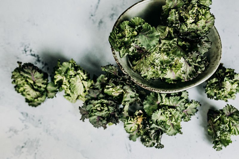 Kale cruciferous vegetable